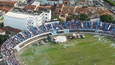 Estádio Presidente Médici (Tremendão) - Itabaiana (SE) - Capacidade: 11,2 mil - Clube: Itabaiana