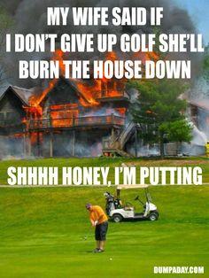 "Top 10 ""Hardcore Golfer"" Meme"