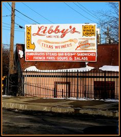 Libby's Lunch, Paterson, NJ A childhood favorite place... an occasional break from the standard home cooked dinner when my brothers had a baseball game at the nearby stadium.