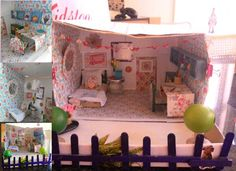 Cath Kidston Design A Shoebox Room Competition | Dioramas and Adorable Decor - Case - Zimbio