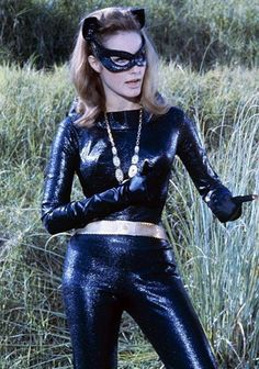 Julie Newma as Catwoman - another one I wanted to be when I grew up!.