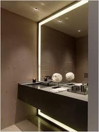 bathroom built in mirror cabinet - Google Search Large Framed Mirrors, Large Bathroom Mirrors, Bathroom Mirror Lights, Vanity Wall Mirror, Best Bathroom Vanities, Modern Master Bathroom, Large Bathrooms, Mirror Cabinets, Contemporary Bathrooms