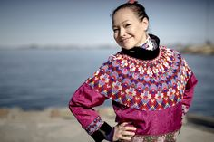 By using animal skins and pearls, a unique national costume has been created. Read more about traditional Greenlandic clothing here.