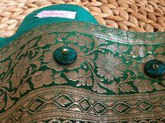 Cintura in stile etnico fatta a mano. Pezzo unico realizzato da Creazioni Lalù.