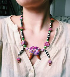 Cosmic Vibs Psychedelic Jewelry Set by PIMN on Etsy