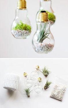 Hangende plantenbakjes