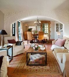 1000 images about casas on pinterest google living - Casas de campo interiores ...