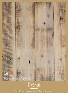 Table basse rustique en bois de palette deco du bois - Table en bois rustique ...
