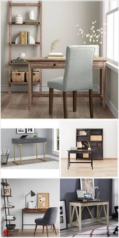 Interior Living Room Design Trends for 2019 - Interior Design Cozy Home Office, Home Office Space, Home Office Design, Home Office Decor, House Design, Home Decor, Office Ideas, Desk Office, Small Office