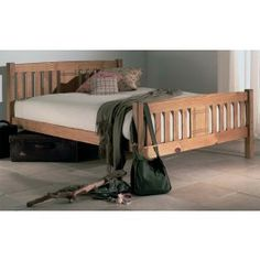 Firm Mattress Beautifully crafted with a sturdy design the Limelight Sedna Wooden Bed Frame Breathe Single Wooden Beds, Wooden King Size Bed, King Size Bed Frame, Pine Bed Frame, Wooden Bed Frames, Small Double Bed Frames, Double Beds, Pine Beds, Leather Bed