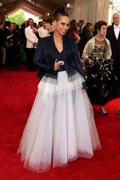 Yessss...#navy bias. Every Must-See Look from the 2015 Met Gala - Best Dressed at the 2015 Met Gala- StyleBistro