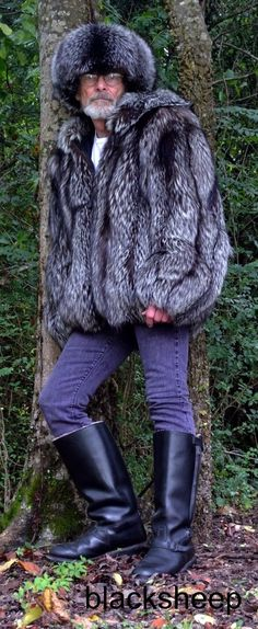 My silver fox parka and hat. With sheepskin lined Russian boots. http://www.99wtf.net/men/mens-accessories/mens-watches-designer/