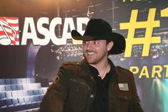 """Chris Young is all smiles at ASCAP's No. 1 party for """"Gettin' You Home (Little Black Dress)"""" on Nov. 24, 2009."""