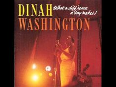 ▶ Dinah Washington / Time After Time - YouTube