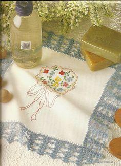 Revistas de manualidades Gratis: Labores para el hogar en crochet