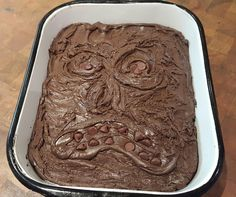 The Necronomicom-nom-nom-nom...roughly translated: The Brownies of the Dead. This Halloween Evil Dead Brownies recipe is sure to be a hit in any household!