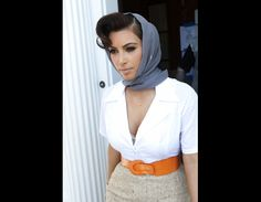 Haute New Hairstyle Fashion Vintage, Retro Fashion, 50s Look, Goodwood Revival, New Hair, Passion For Fashion, Pin Up, Outfit Ideas, Hairstyle