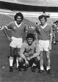Hugo, Valdano y Butragueño