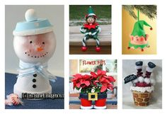Clay Pot Crafts are so versatile and easy accessible to paint and stack. Here are 10+ Creative Clay Pot Christmas Craft Ideas to try.
