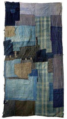 Japanese Boro textil