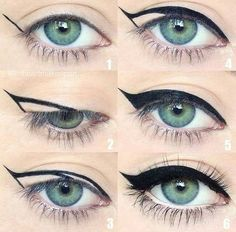 Eye makeup ideas                                                                                                                                                                                 More
