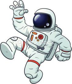 cartoon astronaut - Google Search