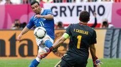 Antonio Di Natale v. Iker Casillas   #Euro2012 #Italia
