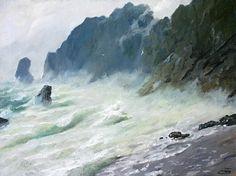 Морские пейзажи Петра Павлова