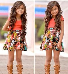 That little girl has more style than me!!! More