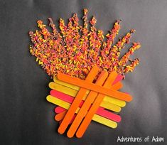 Easy Bonfire Night craft Bonfire Night Crafts, Witch Pictures, Tuff Spot, Colored Rice, Triangle, Simple, Easy, Inspiration, Biblical Inspiration