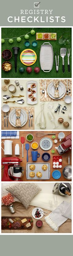 Basic Cooking Tools. The Essential Wedding Registry Checklist For