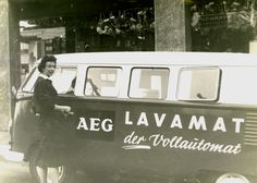 AEG Retro: Waschvorführung 1960 mit dem Lavamat Vollautomat.