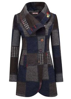 Pretty Perfect Patchwork Coat by Joe Browns