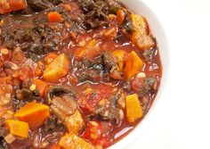 Sweet Potato Lentil Chili [vegan + gluten-free] • Healthy Helper