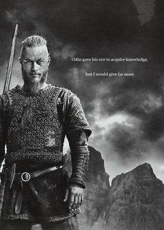 Ragnar. Vikings.