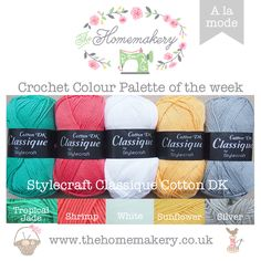 Crochet Colour Palette Archives - Page 11 of 17 - The Homemakery Blog