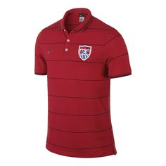 Nike USA Authentic League Polo - University Red