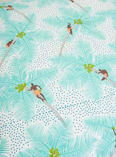 Couverture and The Garbstore - Homeware - Safomasi - Coconut Palm Pickers Floor Cushion