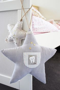 Twinkle Star Tooth Fairy Pillow