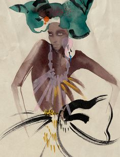 Fashion Illustration by Cecilia Carlstedt