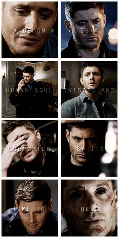 """[gifset] """"A demon is a human soul, twisted and corrupted by its time in Hell."""""""