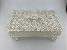 Trabzon, silver filigree jewelry box