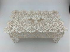 Trabzon, silver filigree jewelry box