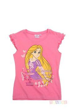 T-shirt #Raiponce rose https://www.toluki.com/prod.php?id=1061 #enfant #Toluki #mode