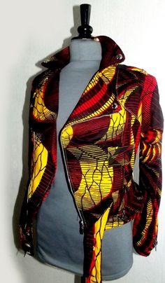 Amazing Ankara Bomber Jackets Styles for Ladies - Beradiva African Print Fashion, Africa Fashion, African Fashion Dresses, Fashion Prints, Fashion Outfits, African Attire, African Wear, African Dress, Posh Clothing