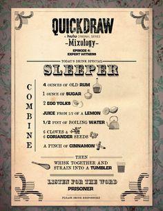 Quick Draw on Hulu Sleeper Mixology
