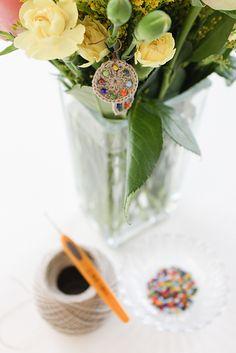 Ravelry: Beadazzling Beaded Earrings pattern by Natasja King