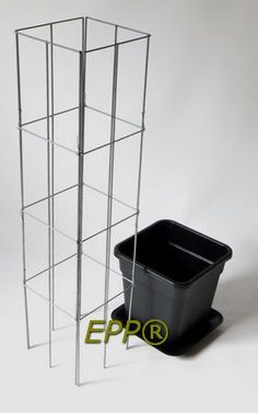 Wire columns for plants who needs support to grow. www.easyplantpill...
