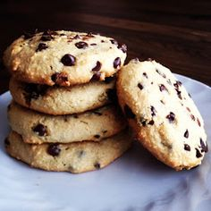 Yoh Can Cook: Recipe: Paleo Chocolate Chip Cookies