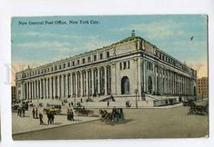 3051339 US New General Post Office New York City Old General Post Office, Old Post Office, Picture Postcards, Old Postcards, New City, New York City, Union Station, General Store, New Jersey